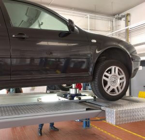Die Prüfpunkte sollen bei jedem Fahrzeug abgearbeitet werden.